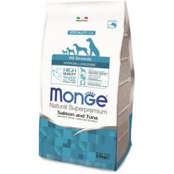 Monge Adult Light Salmón y Atún 2,5kg