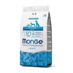 Monge Pienso Natural Adult Light Salmón y Arroz 12kg