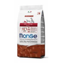 Monge NS Adult Mini Cordero y Arroz 2,5kg