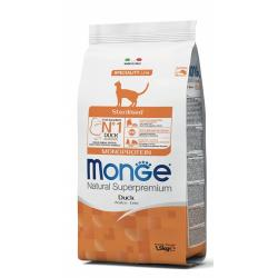 Monge NS Gato Sterilized Pato 1,5kg