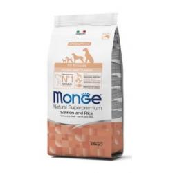Monge Pienso Natural Puppy & Junior Salmón y Arroz 2,5kg