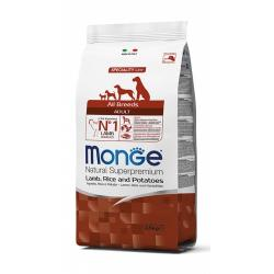Monge Pienso Natural Adult Cordero y Arroz 2,5kg