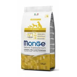 Monge All Breeds Pollo, Arroz y Patata 12kg