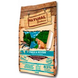 Natural Greatness Field & River Recipe Gatos 6Kg