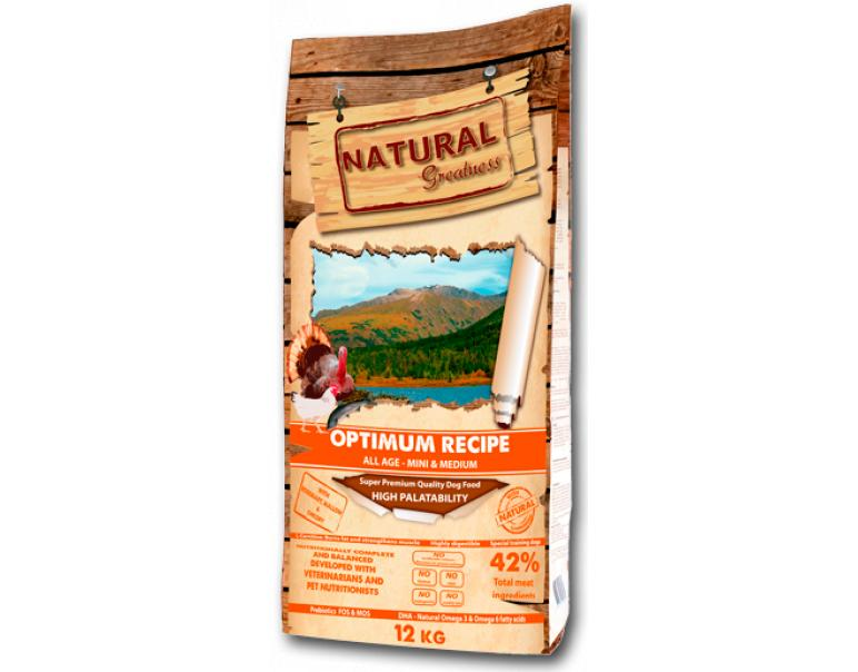 Natural Greatness Optimum Recipe Mini & Medium 2kg