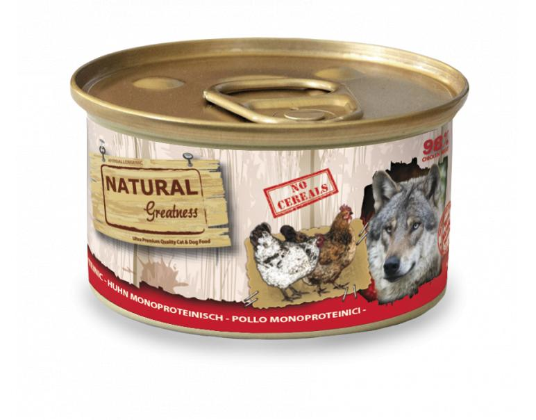 Natural Greatness Monoproteica Pollo 24x170gr