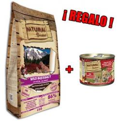 Natural Greatness Receta Wild Instinct para Gatos 6kg + LATA REGALO