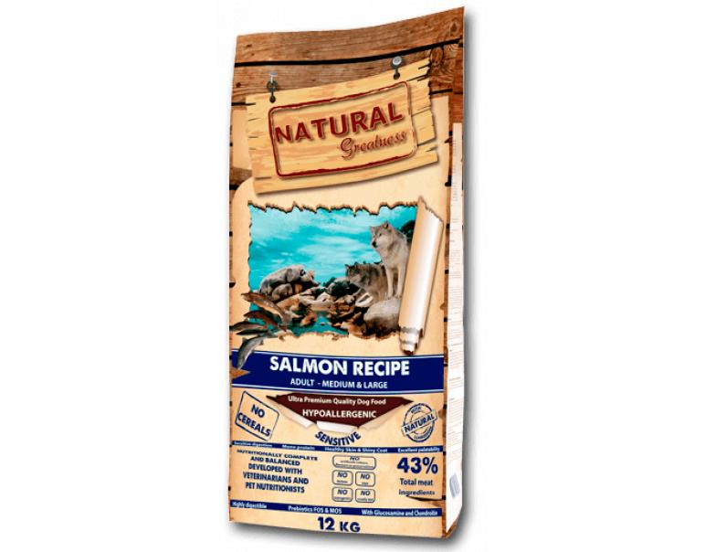 Natural Greatness Salmón Recipe Sensitive 12kg