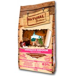 Natural Greatness Sensitive Indoor Gatos 600gr