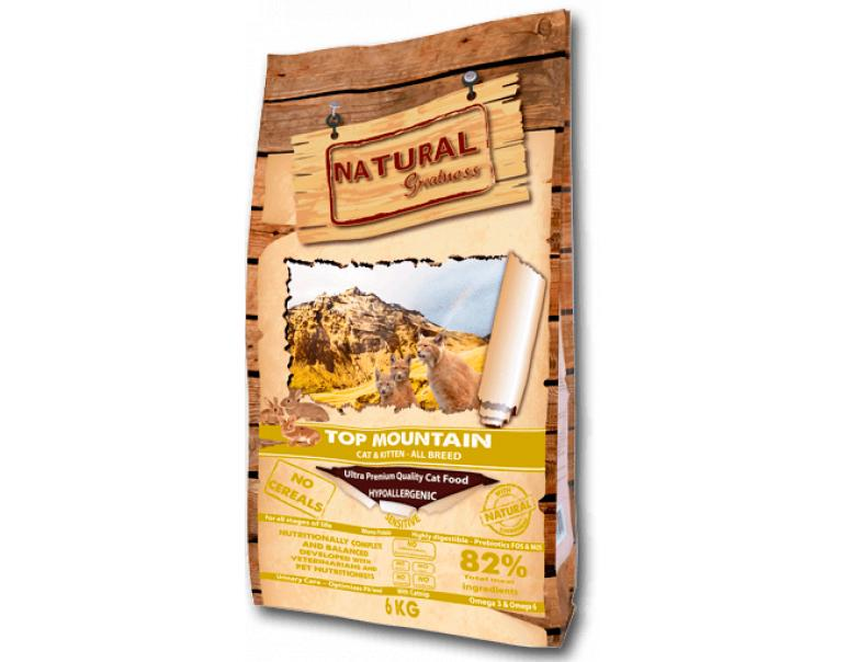 Natural Greatness Top Mountain Recipe Gatos 2kg
