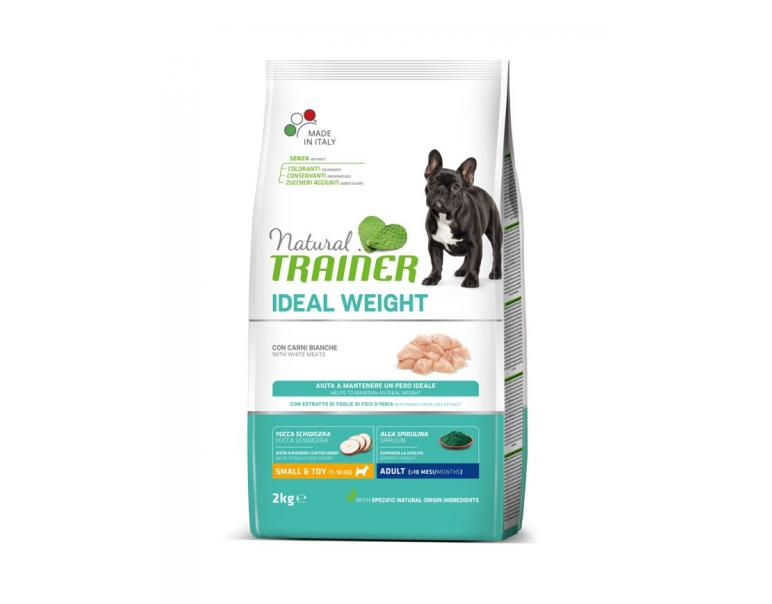 Natural Trainer Dog Weight Care Alimento para Perros Mini 2kg