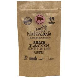 Naturcanin Snack Gourmet Natural Bacon 120gr