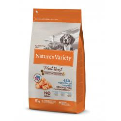 Nature's Variety Selected Meat Boost Grain Free Salmón Pienso para Perros 1,5kg