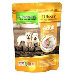 Natures Menú Canine Pavo Pollo Pouch 300g 8uds