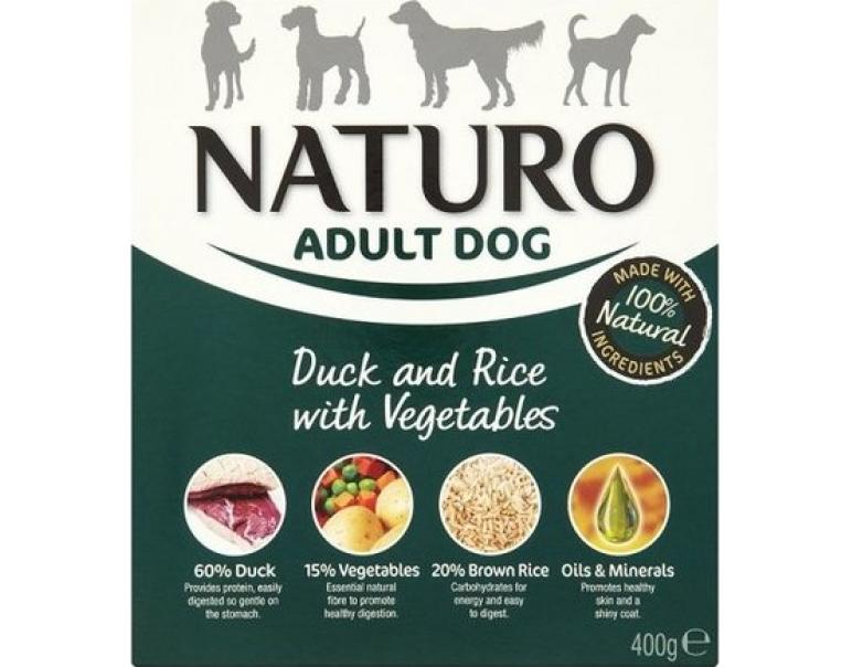Naturo Dog Adult Pato/Arroz 400gr