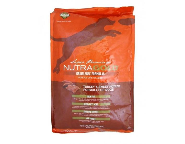 Nutra Gold Grain Free Pavo 2,3kg