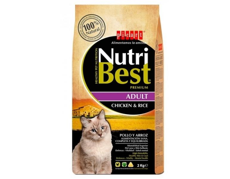Picart Nutribest Cat Adult Pollo y Arroz 2kg