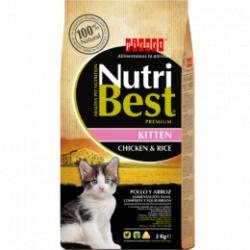 Nutribest Cat Kitten Pollo Arroz 8kg