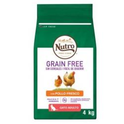 Nutro Grain Free Cat Adult Pollo 4kg