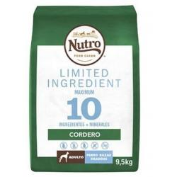 Nutro Limited Ingredient Adult Grande Cordero 9,5kg