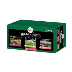 PACK AHORRO Nutro Wild Frontier Cat Wet Mixto 12x85g