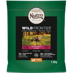 Nutro Wild Frontier Dog Pavo y Pollo Junior 1,5kg