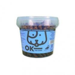Ok For Dogs Barritas Carne Salmón y Arroz 800g