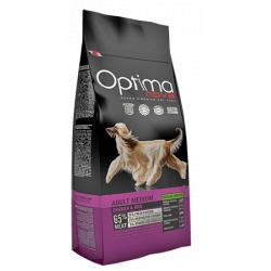 Optima Nova Adult Medium Pollo y Arroz 12kg