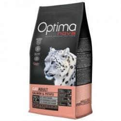 Optima Nova Cat Adult Salmón & Patata 2kg