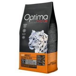 Optima Nova Gato Adulto Salmón y Arroz 2kg