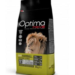 Optima Nova Gato Hairball 8 kg