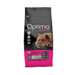 Optima Nova Gatos Adultos Exquisite Pollo y Arroz 2 Kg