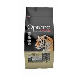Optima Nova Gatos Adultos Pollo y Arroz 2 Kg