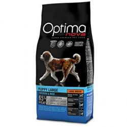 Optima Nova Puppy Large Pollo y Arroz 12Kg