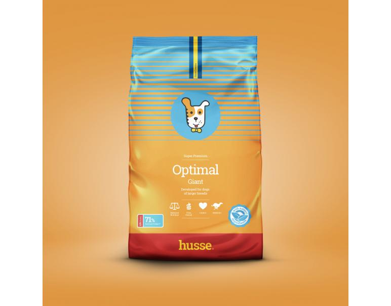 Husse Optimal Giant Pienso para Perros 15kg