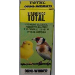 Orni-Winner Vitamínico Total para Aves 20ml