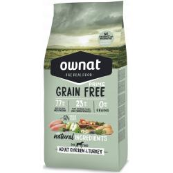 Ownat Grain Free Adult Chicken & Turkey para Perros 3kg
