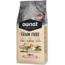 Ownat Just Grain Free Adult Chicken para Gatos 3kg
