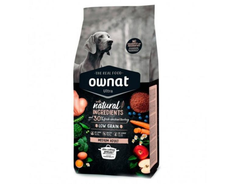 Ownat Ultra Canine Medium Adult 14kg