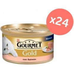 PACK AHORRO Gourmet Gold Salmón Mousse 24x85gr