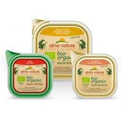 PACK AHORRO Almo Nature Bio Organic Single Protein 4x150g