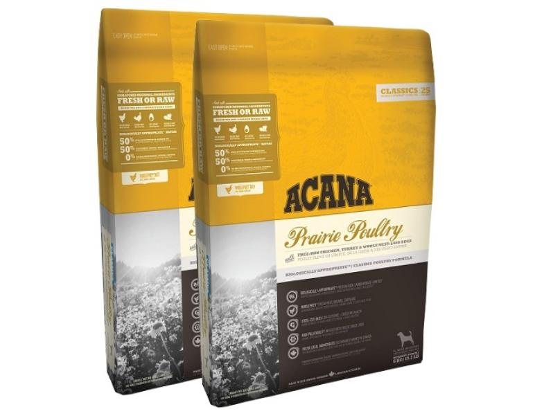 PACK AHORRO Acana Heritage Prarie Poultry 2x17kg