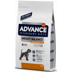 PACK AHORRO Advance Weight Balance Perros Medium/Maxi 2x12kg