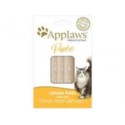 PACK AHORRO Applaws Cat Snack Puré Pollo 8 x 7g