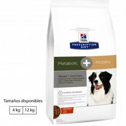PACK AHORRO Hill's Prescription Diet Canine Metabolic + Mobility 2x12kg