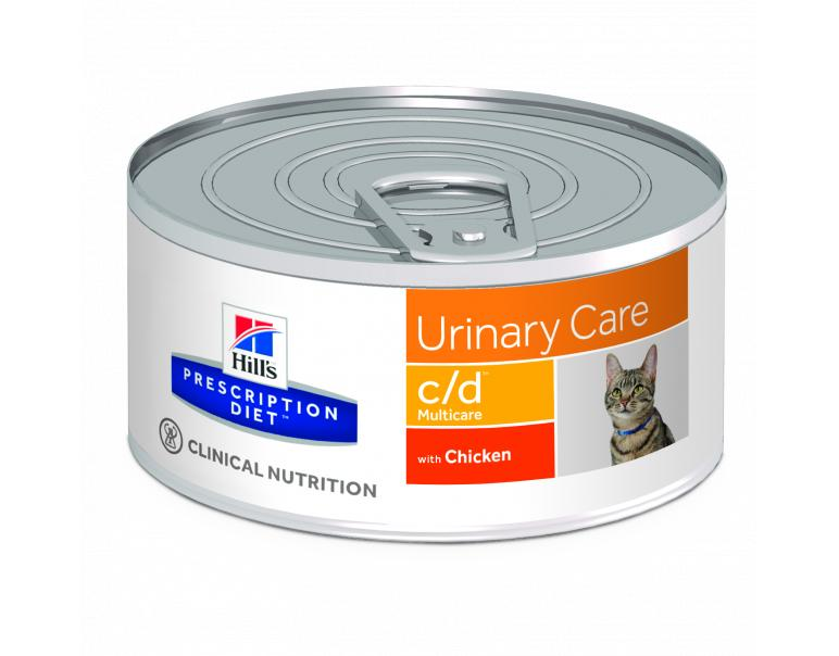 PACK AHORRO Hill's Prescription Diet Feline c/d 24 Latas x 156g