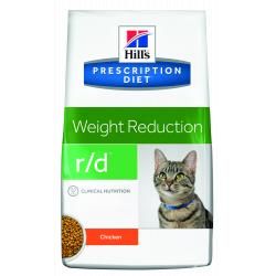 PACK AHORRO Hill's Prescription Diet Gato r/d Control de Peso 2 x Saco 5 Kg