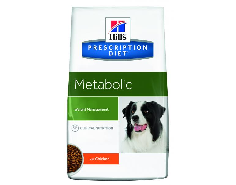 PACK AHORRO Hill's Prescription Diet Perro Pienso Metabólico 2 x 12 Kg