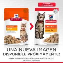 PACK AHORRO Hill's Science Plan Gato Adult Pollo 12x85g