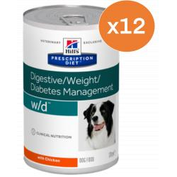 PACK AHORRO Hill's w/d Diabetes Management 12x370gr